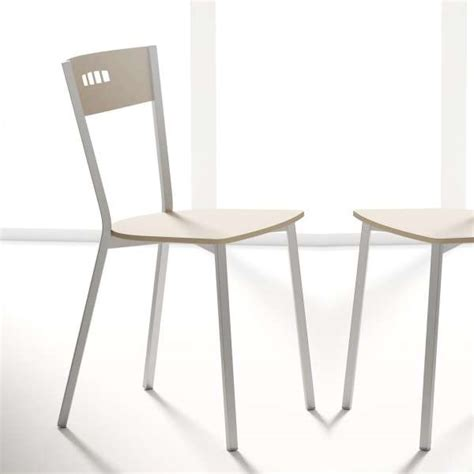 magasin de chaise de cuisine chaise de cuisine moderne en bois et métal versus 4