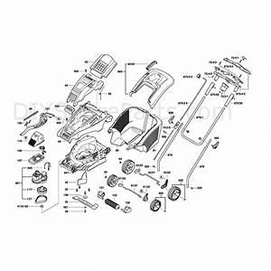 Bosch Rotak 43  3600h81370  Parts Diagram  Page 1