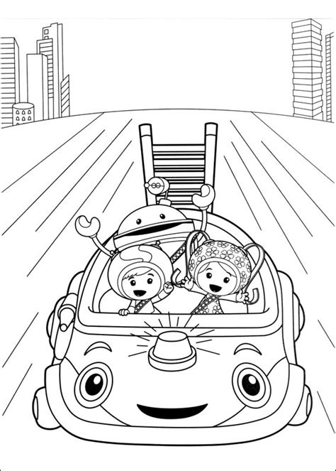 umizoomi coloring pages    print