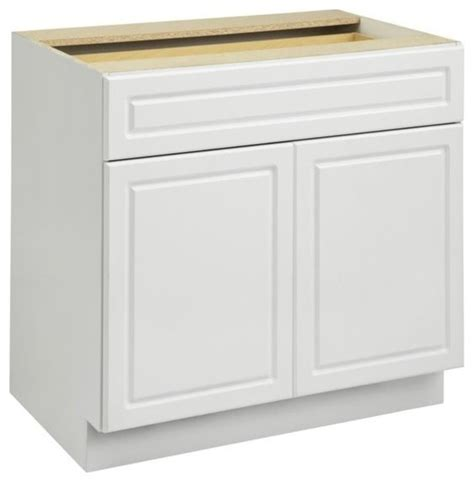 white kitchen cabinet base ameriwood keystone 36 quot base cabinet in white kitchen
