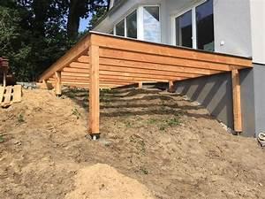 Erh c bhte perfekt sichtschutz terrasse mit erh hte for Erhöhte terrasse bauen