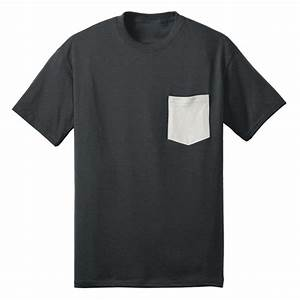 Pocket tshirt mockup