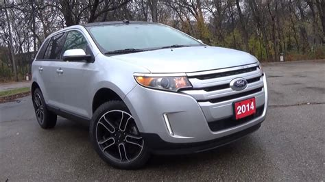 ford edge sel awd review youtube