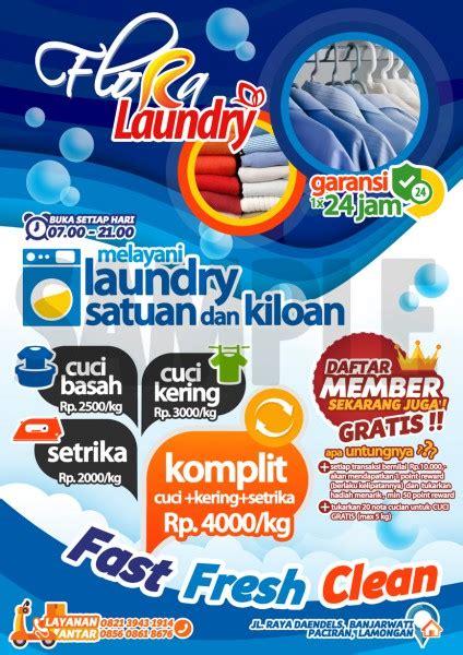 86 Gambar Desain Spanduk Laundry Kiloan Paling Bagus