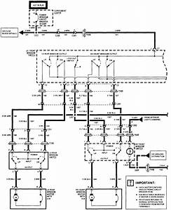 Oldsmobile Power Window Wiring Diagram
