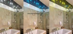 sternenhimmel badezimmer badezimmer beleuchtung glasfaser kreative ideen für ihr zuhause design