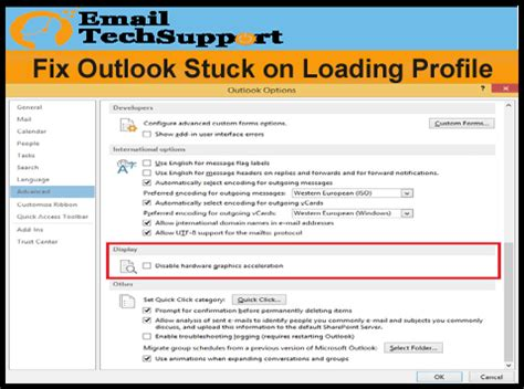 call support number 1 833 410 5666 fix outlook stuck on loading profile