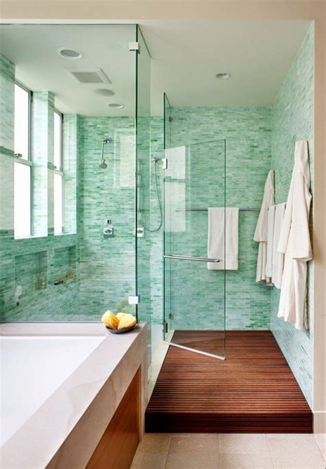 Spa Green Bathroom by Obsessed With Turquoise And Refreshing Yet