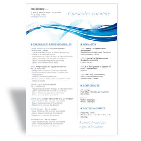Modèle Cv Débutant by Resume Format Modele De Cv Gratuit A Telecharger Sur Mac