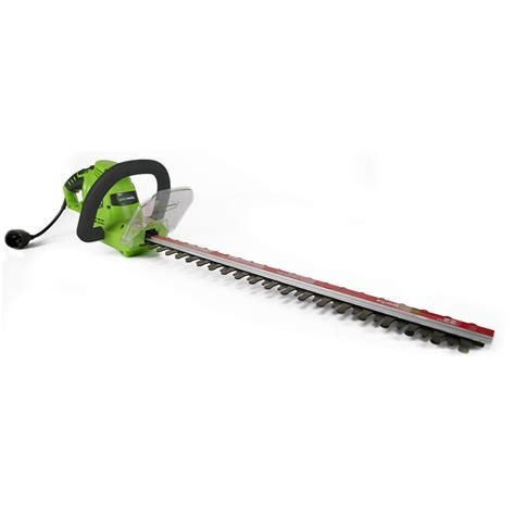 corded electric hedge trimmers cheap lightweight bush trimmers