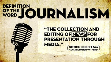 Journalism Definition by Why Is Journalism Important To Me Academically
