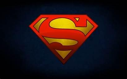 Superman Wallpapers Desktop Logos Backgrounds Background Cartoon