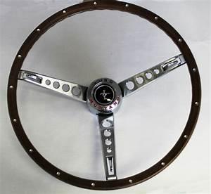 NEW 1965-1966 Ford Mustang Pony Steering Wheel Original Look Woodgrain Deluxe | eBay
