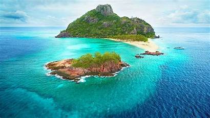 Fiji Island Desktop Wallpapers Backgrounds Beach Monuriki