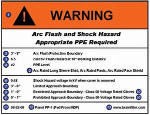 Read the label ec mag for How to read arc flash labels