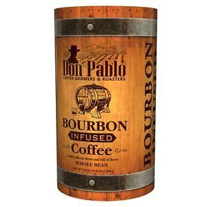 If you're a fan of bourbon, then this blend will quickly. 25oz Don Pablo Bourbon Infused Specialty Coffee - Whole ...
