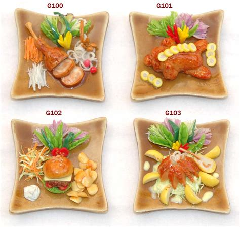 magnet cuisine mini fridge magnet food handmade artificial clay buy