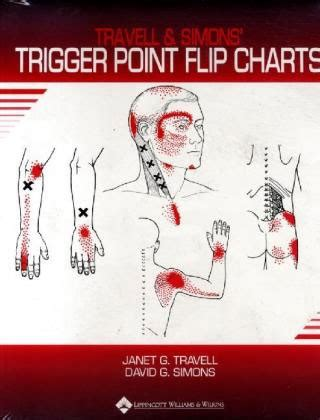 travell  simons trigger point flip charts von travell