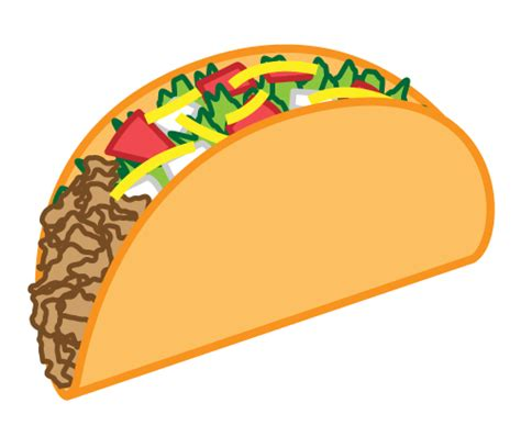 Tacos Clipart Mexican Taco Clip On Clipart Panda Free Clipart Images