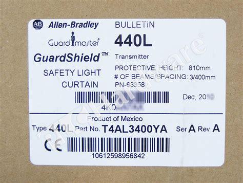 plc hardware allen bradley 440l t4al3400ya guardshield
