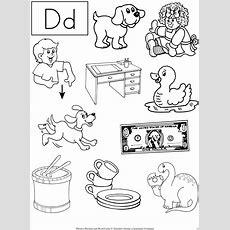 14 Best Images Of Letter D Sound Worksheets Kindergarten  Letter D Worksheets Preschool, Letter