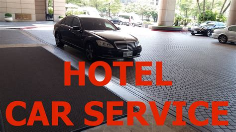 Car Service by Hotel Car Service When Does It Make Sense And How To