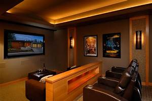 Anya Lane - Contemporary - Home Theater - other metro - by ...