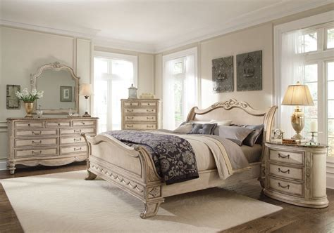 White Queen Bedroom Furniture Set Raya Furniture