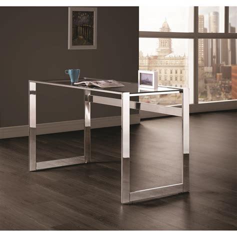 Coaster Contemporary Computer Desk by Coaster Contemporary Computer Desk With Chrome Legs
