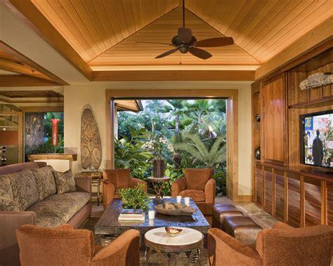 Home Interior Uplighting : Marvelous Uplighting Technique Hawaii Tropical Family Room