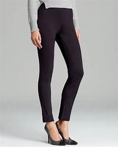 Size Chart Calvin Klein Calvin Klein Pull On Skinny Pants In Black Lyst
