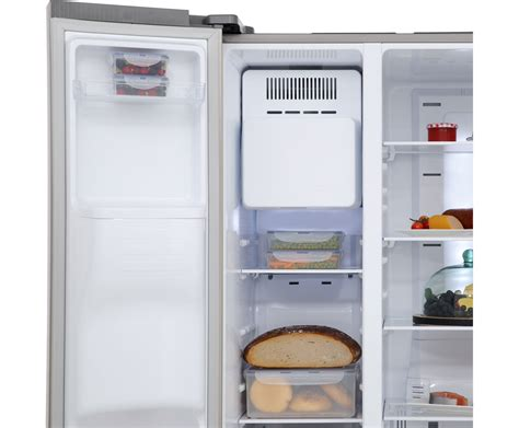 kühlschrank side by side eiswürfel samsung rs7568bhcsp side by side freistehend edelstahl ebay