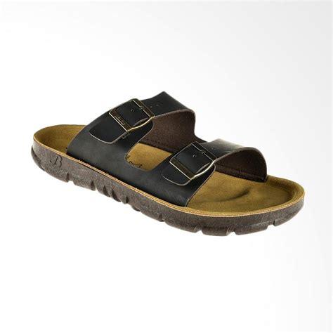 jual bata piete sandal pria brown 8734076