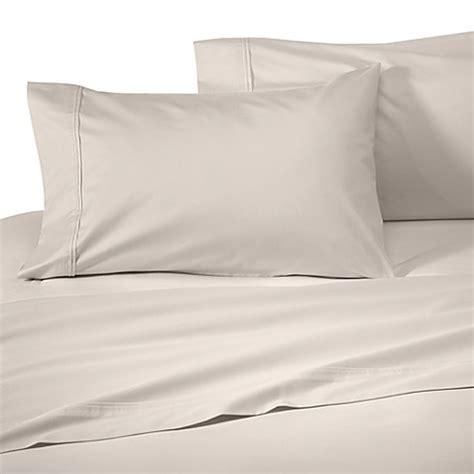 wamsutta sheets buy wamsutta 174 supima 174 supreme luxury open stock full flat sheet in antique ivory from bed bath