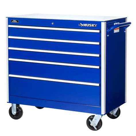 Blue Side Cabinet Tool Box by Husky 27 In W 7 Drawer Tool Cabinet H7tr3 The Home Depot