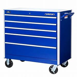 Husky 27 in W 7 Drawer Tool Cabinet H7TR3 The Home Depot
