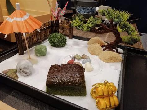 จัดสวนจิ๋วจากขนมญี่ปุ่น 箱庭スイーツ Hako Niwa Sweet ที่ Mamezo&Cafe