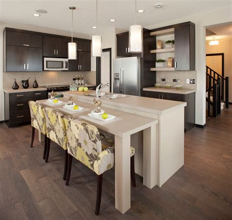 evansview  midtown contemporary kitchen calgary