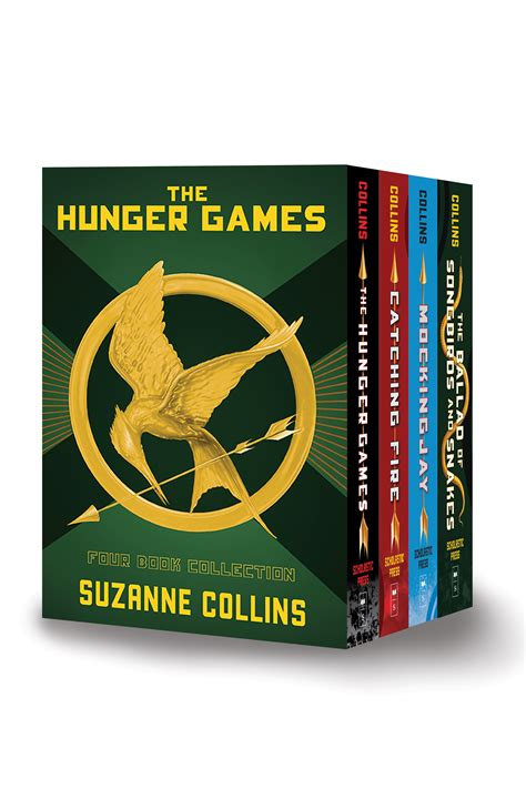 hunger games  book hardcover box set  suzanne collins