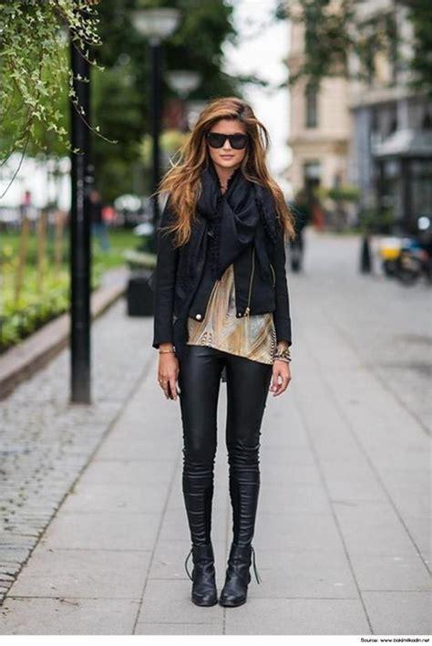 Outfits with Black Leggings u2013 21 Ways to Wear Black Leggings