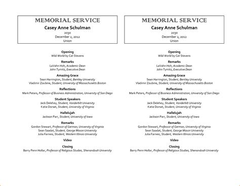 sample funeral programs teknoswitch