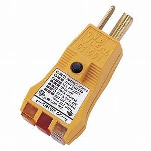 Ideal E-z Check Plus Gfci Circuit Tester-61-051