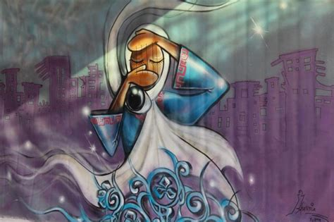 afghanistans  female street artist risks  life