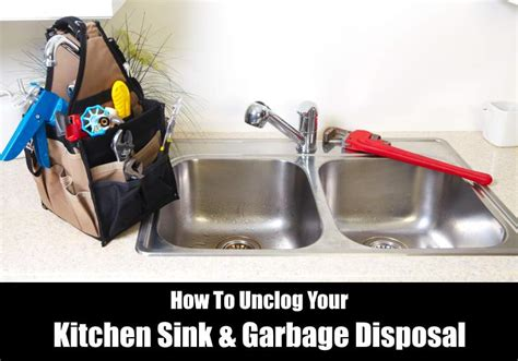 how to unclog a sink how to unclog a sink garbage disposal kitchensanity