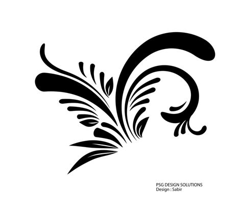 Abstract Black Design Png by Swirl Designs Png Clipart Panda Free Clipart Images