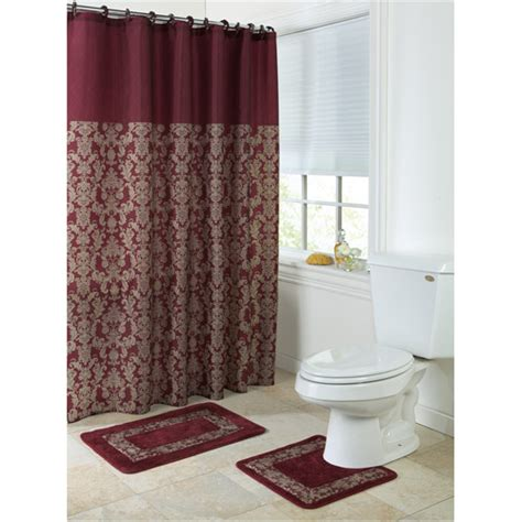 walmart bathroom rug sets gramercy 15 bath rug set walmart
