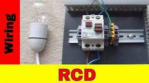 How To Wire Residual Current Device  Rcd