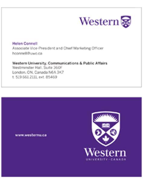 templates communications western university