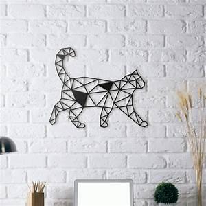 Carte Du Monde Metal : d coration murale design chat artwall and co ~ Teatrodelosmanantiales.com Idées de Décoration