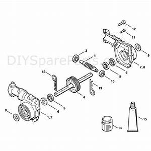 Stihl Mm 55 Multi Tool Engine  Mm 55  Parts Diagram  Gear Head